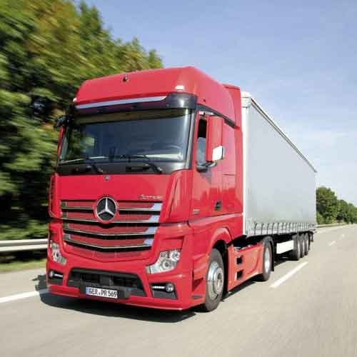Mercedes Actros Truck Shelving & Cabin Storage